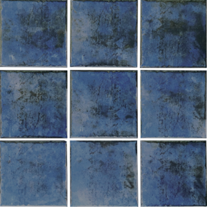 Blue  Porcelain ​6×6 (Range Shown)