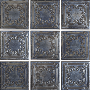 Blue Deco Porcelain ​6×6 (Range Shown)