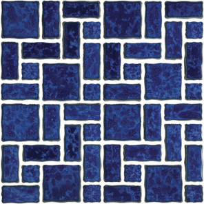 Pacific Blue​ Random Pattern Porcelain 12×12 Sheet