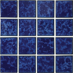 Pacific Blue Porcelain 3×3 Mosaic 12×12 Sheet