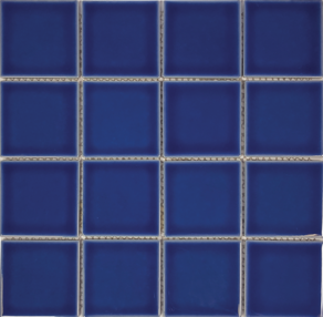 Royal BluePorcelain 3×3 Mosaic 12×12 Sheet