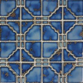 Terra Blue Porcelain Mosaic 12×12 Sheet