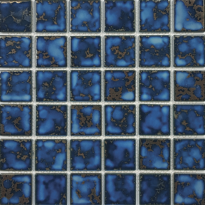 Terra Blue Porcelain 2×2 Mosaic 12×12 Sheet