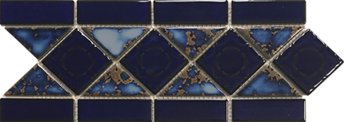 Terra Blue  6×13 Border