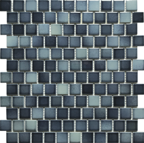 Light  1×1 Porcelain Mosaic 13×12 Sheet