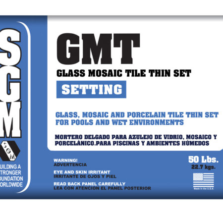 Glass Mosaic Tile (GMT) Thin-Set Mortar