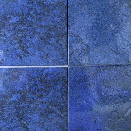 PORCELAIN OCEAN BLUE LAGUNA 6X6