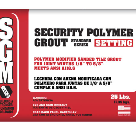 Security Polymer Grout