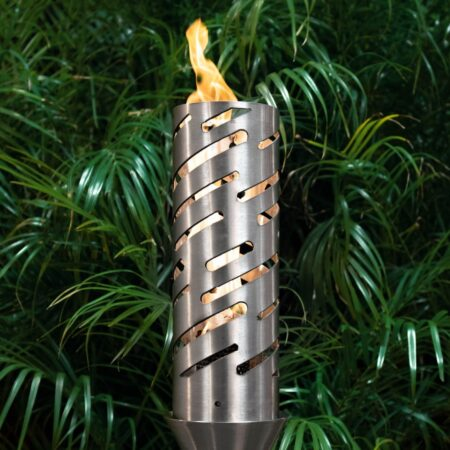 SHOOTING STAR FIRE TORCH STAINLESS STEEL
