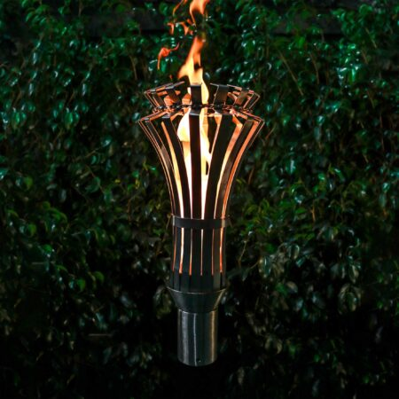 GOTHIC FIRE TORCH STAINLESS STEEL GAS TORCH