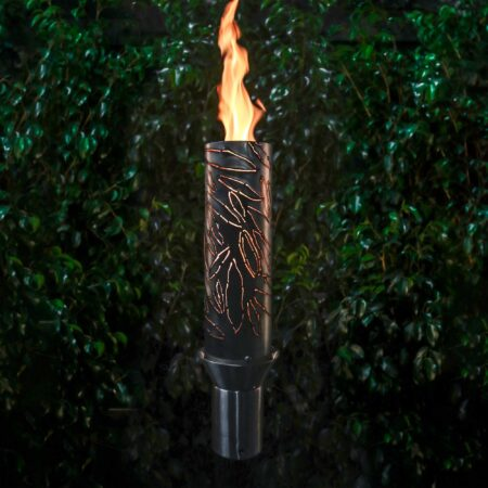 TROPICAL FIRE TORCH STAINLESS STEEL GAS TORCH