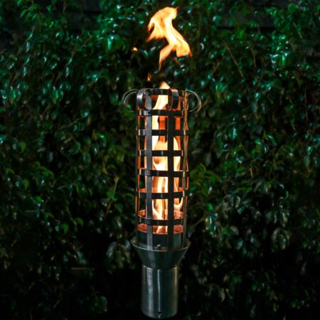 BOX WEAVE FIRE TORCH STAINLESS STEEL GAS TORCH