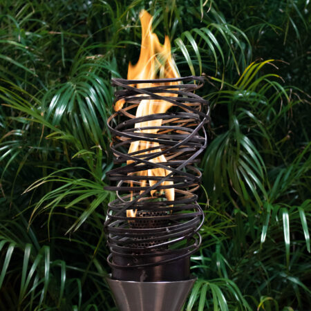 TANGLED FIRE TORCH STAINLESS STEEL