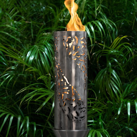 TIKI  FIRE TORCH STAINLESS STEEL