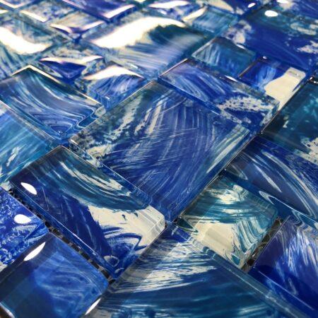 LONG BEACH MIX GLASS TILE 8MM