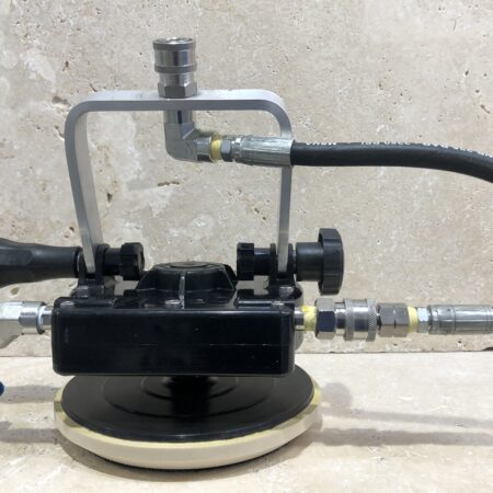 HYDROTORQUE POOL POLISH MACHINE W/ EXTENSION ROD