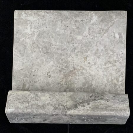 Silver 6×6 Travertine Hand Hold