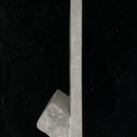 Silver 6×6 Travertine Hand Hold