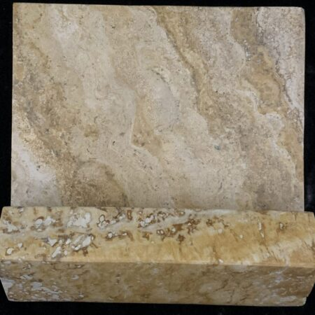 Gold 6×6 Travertine Hand Hold