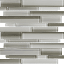 FUSION CLAY RANDOM 35-035  STRIP GLASS MOSAIC