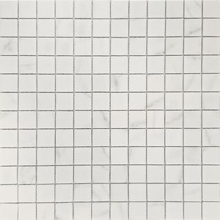 Venato White 1×1 Glass Mosaic