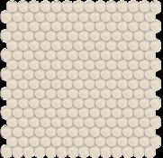 Sand Penny Round Mosaic