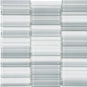 Shades of Grey 1×4 Stacked Mosaic