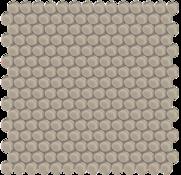 Smoke Penny Round Mosaic