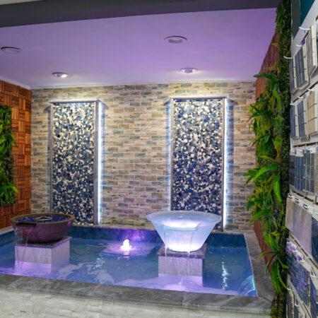 White pool tile ideas