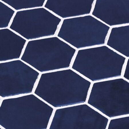 Hexagon Zelik XL Blue 11.25 x 11.25