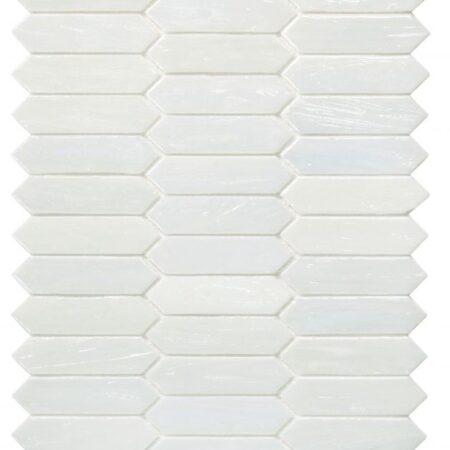 Arrow White Pearl 10.25 x 12.5 TILE