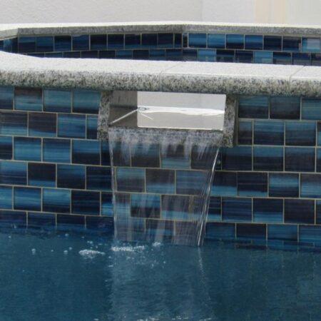 2X3 BLUE GLASS TILE PDS-2387